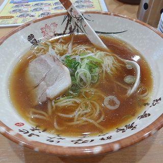 醤油ラーメン(十八番(オハコ)ラーメン 千鳥橋店)