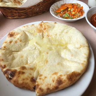 スタンダードランチ(チーズナン)(インド料理 カマナ 太白店 )