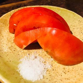冷やしトマト(朝日食堂 )