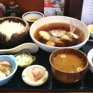 煮魚定食(竹亭)