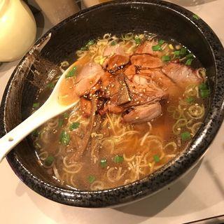 チャーシュー麺(鳳園)