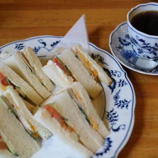 ミックスサンド(名古屋市市政資料館 喫茶室 )