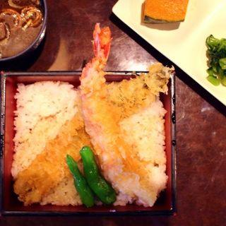 天丼(魚太郎・蔵のまちCafe)