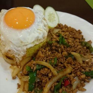 ガパオライス(ニューナマステヒマール 越中島店 )