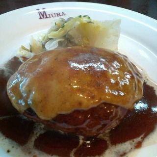ハンバーグ(洋食 三浦亭 )