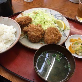 ヒレかつ定食(とんかつ繁 (とんかつ しげ))
