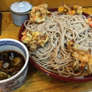 もりかき揚げ(歌舞伎そば (かぶきそば))