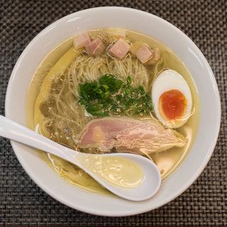 鶏と七福白醤油らーめん(麺や 睡蓮)