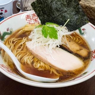 煮干し醤油ラーメン(麺や 睡蓮)