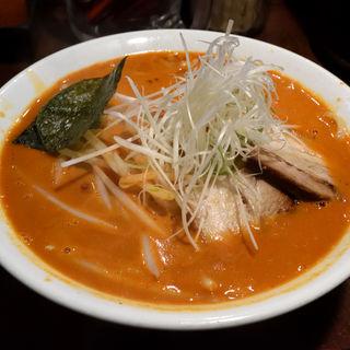 唐辛子中華そば(激辛)(麺や 庄の)