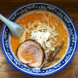 海老味噌ラーメン(麺や 樽座 子安町店)