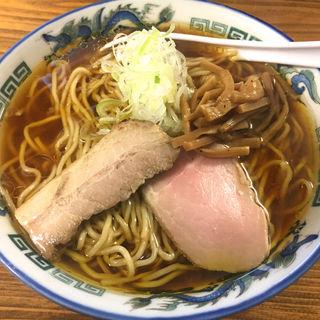 鶏の醤油ラーメン(くじら食堂 )