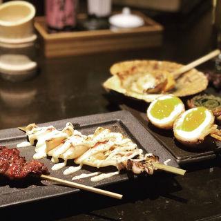 肉巻き串(串焼き 滿天 先斗町店)