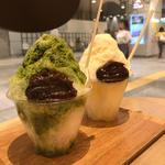 かき氷(トラヤ カフェ・アン スタンド 新宿店 (TORAYA CAFE・AN STAND))