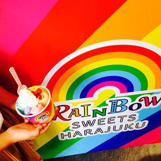 レインボーロールアイス(RAINBOW SWEETS HARAJUKU)
