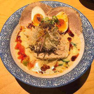 冷やし担々麺(セアブラノ神 壬生本店 )