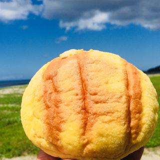 メロンパン(松下パン釣具店)