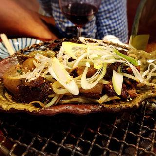 スジコン炒め(鍋焼ぼうず)