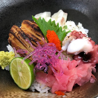 明石海鮮丼(季節料理 藤原)