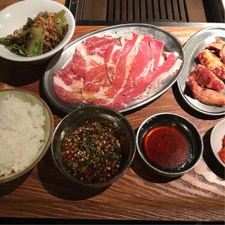 焼肉ランチ(熟成焼肉 肉源 六本木店)
