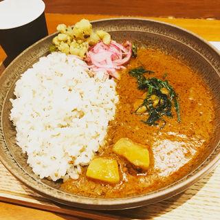 豚トロのビンダルーカレー(スープストックトーキョー 丸ビル店 (Soup Stock TOKYO))