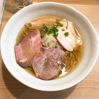 鯖の鶏塩そば(鶏谷 (トリタニ))