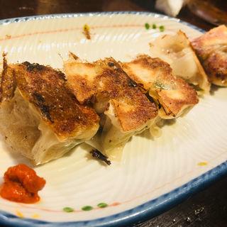 一口餃子(半餃子)(麺の坊 砦)