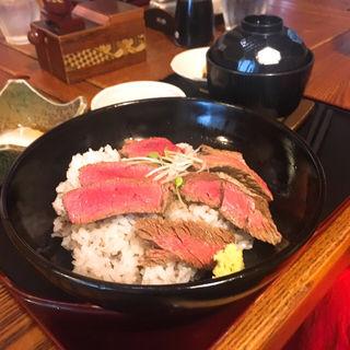 足柄牛のステーキ丼(いろり家 )