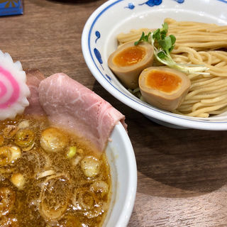 濃厚鶏つけ麺(サバ6製麺所三宮 センタープラザ店)
