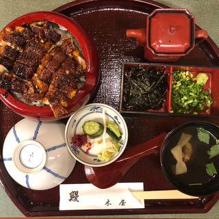 特上ひつまぶし(肝吸い付き)(鰻 木屋 (うなぎきや))