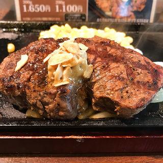 ヒレステーキ(200g)(いきなりステーキ 山口宇部店)