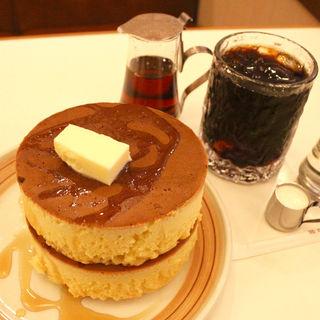 ホットケーキ(イワタコーヒー店)