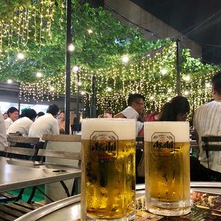 生ビール(京王アサヒスカイビアガーデン (ケイオウアサヒスカイビアガーデン))