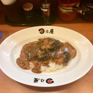 たっぷりなすカレー(7分盛り)(日乃屋カレー 九段下 )