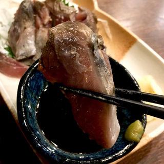カツオのタタキ(炭火 串焼きボンちゃん)