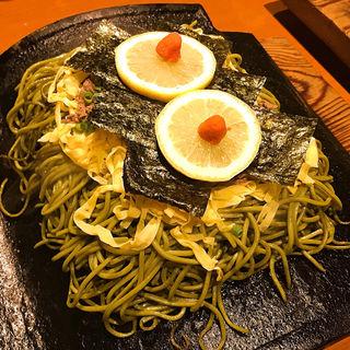 瓦そば鯛茶漬けセット(たかせ 門司港レトロ店 (がんそかわらそばたかせ))