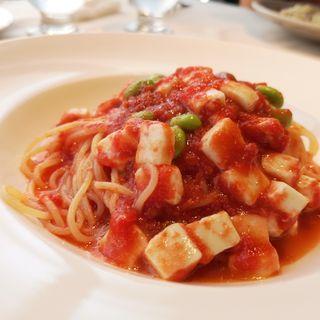 モッツァレラチーズとトマトのソース