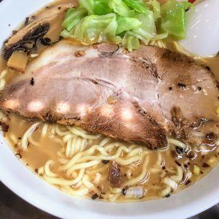 らー麺 鯛あらダシスープ 醤油(大盛)(麺人佐藤 )