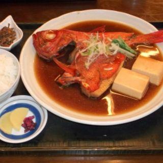 金目鯛煮付け定食(ふるはうす)