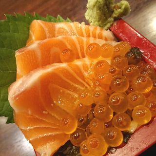 サーモンいくら丼(千尋の道 (センピロノミチ))