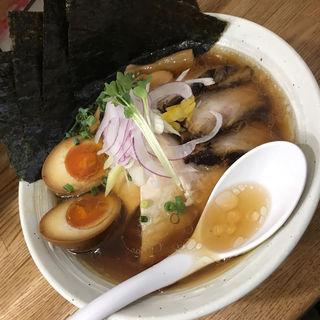 鶏清湯ラーメン スペシャル トッピング 自家製麺(らぁ麺 しろ)