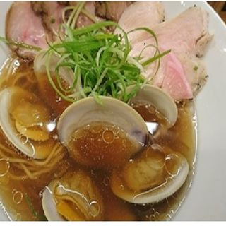 ボンゴレ肉醤油(Ramen 辻)