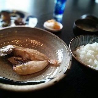 赤むつ干物+B定食(朝昼 ta ma me.)