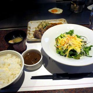 (平日限定)サイコロステーキ ランチ(鉄板焼 リオ)
