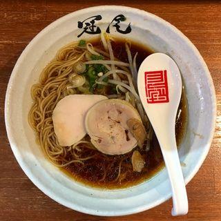 鶏清湯 醤油拉麺(拉麺 冠尾 武蔵小山 (ラーメンカムロ))