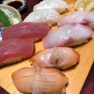 寿司盛り合わせ(大須亭)