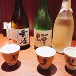 日本酒飲み比べセット 雲雀、蝉 他