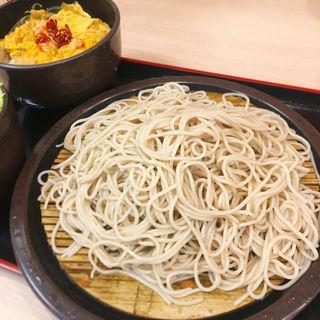 玉子丼セット(ゆで太郎 大森入新井店 (ゆでたろう))
