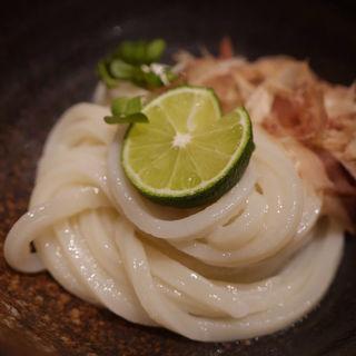 ミニ生醤油うどん(うどんや ぼの)