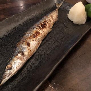 さんま塩焼(黒門酒場 北浜店 (くろもんさかば))